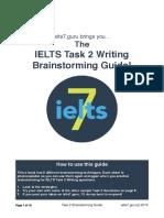 Task 2 Brainstorming Guide
