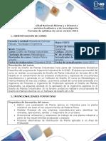 Syllabus Del Curso Diseño de Plantas Industriales