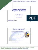 Gestion Financiera de Poryectos de Vivienda
