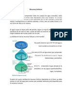 Recursos hídricos Colombianos