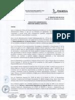 Reglamento Internet + Resolución