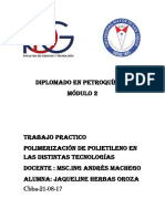 Procesos y Teconologias de Polimerizacion de Polietileno (Autoguardado)