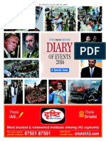 The Hindu Diary of Events 2016