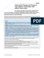 Duration of Anti-Tuberculosis Therapy and Timing of Antiretroviral Therapy Initiation- Association With Mortality in HIV-Related Tuberculosis