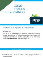 6. Espacios Vectoriales Euclidianos