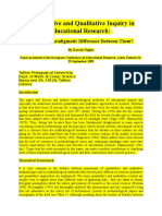 Quantitative and Qualitative Inquiry in Educational Research.doc
