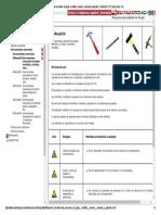 Herramientas Manuales de Golpe_ Martillos, Cinceles, Macetas y Piquetas.. Colombia. CYPE Ingenieros, S