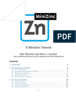 MiniZinc - Tutorial.pdf