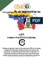 Instalación de Impresoras en GNU-Linux - 2