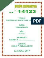 RESEÑA HISTÓRICA DE LA ARENA.docx