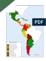 Mapas de La Colonia Española