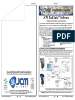 JCM Tool Suite Software manual