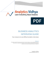 Interview Guide by Analytics Vidhya