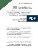 Controle Social e Orçamento Público - Democracia_Participativa