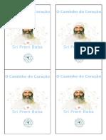 Caderninho - O Caminho do Coração - Sri Prem Baba