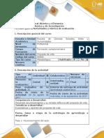 Guía de Actividades y Rúbrica de Evaluación - Fase 1 - Reconocimiento Del Aula