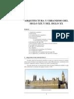 13. Arquitectura y Urbanismo de los siglos XIX y XX