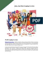 Profil, Biodata, Dan Data Lengkap Lovelyz