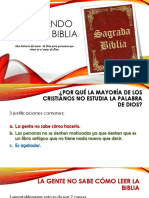Aprendiendo de La Biblia