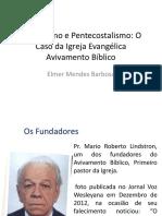 Metodismo e Pentecostalismo