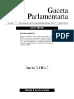 Reflexion de Un Grupo Parlamentario Sobre El Decreto de Reforma a Pensionissste