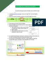 JCLIC Descargar y Usar Actividades de La Biblioteca ZonaClic