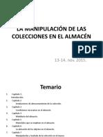La Manipulación de Las Colecciones en El Almacén