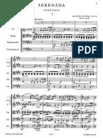 Dvorak, Antonín - SERENADA, Op. 22