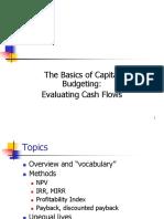 The Basics of Capital Budgeting