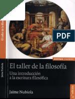 Nubiola Jaime - El Taller de la Filosofia.pdf