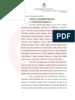 Indagatoria a Cristina Kirchner