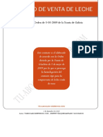 Contrato de Venta de Leche en Galicia