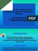 Asertividad y Comunicación Enpúblico
