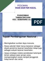 339634164 PPT Pelatihan Dokter Kecil Ppt