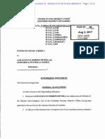Acusación de Estados Unidos contra Luis Gustavo Moreno