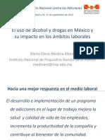 Presentación Dra. Medina-Mora_Septiembre 2011