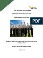 6. Modulo Instruccion Policial II