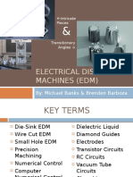 Edm Electronic Discharge Machine Powerpoint