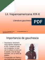 1. Literatura gauchesca (2010-1)
