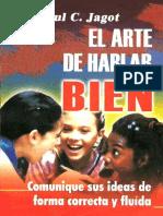 El Arte de Hablar Bien - Paul C. Jagot