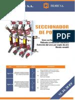 Manual de Seccionador de Potencia Spai-b