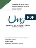 90273848 Escuelas Del Derecho Internacional Privado PDF