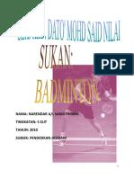 Badminton Pjk