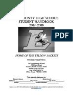lchs final 2017-2018 student handbook