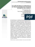 SITUAÇÕES DE RISCO NA PERCEPÇÃO DOS TRABALHADORES.pdf