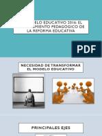 Modelo-Reforma Educativa