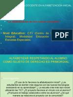 Presentación SF. Alfabetización Inicial