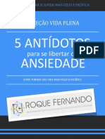 eBook 5 Antidotos Da Ansiedade