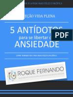 eBook 5 Antidotos Da Ansiedade