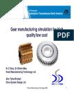Gear Manufacturing Process